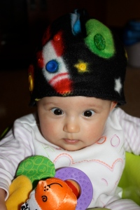 YOUR PRIZE... Rocketman Fleece Baby Hat
