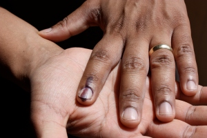 The indelible ink!